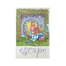 Print-ESCAPE-3 Rectangle Magnet