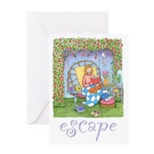 Print-ESCAPE-3 Greeting Card