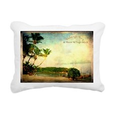 Bolongo bay st thomas us Rectangular Canvas Pillow