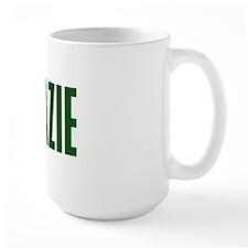 Grazie Green Narrow Ceramic Mugs