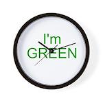 Im green Wall Clock