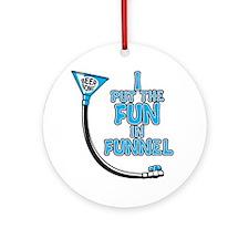 Funnel Round Ornament