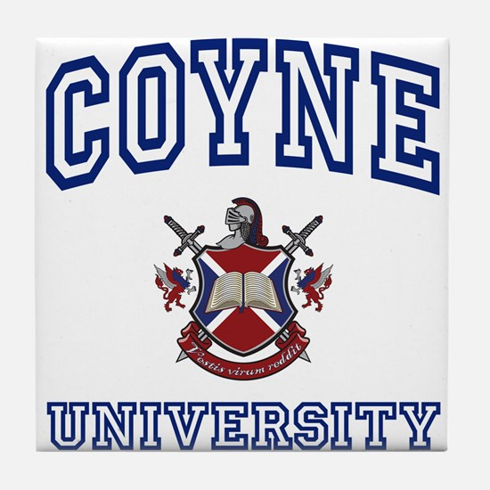 COYNE University Tile Coaster