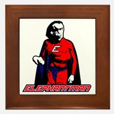 Elephantman Framed Tile