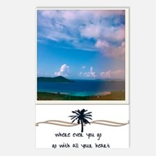 where ever you go Postcards (Package of 8)