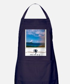 where ever you go Apron (dark)