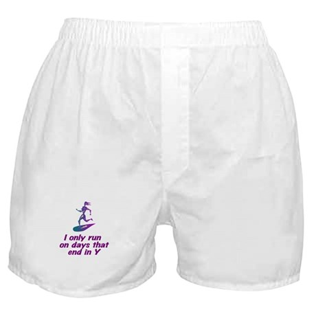 RunnerChick Days Boxer Shorts