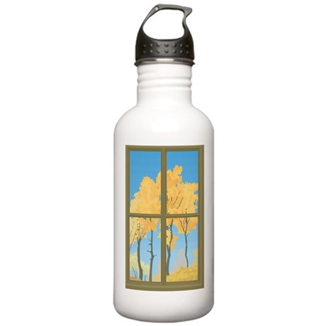yellow trees Stainless Water Bottle 1.0L