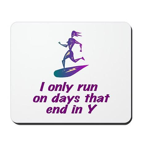 RunnerChick Days Mousepad