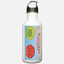 poster-rotated Water Bottle