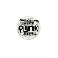 Punk At Heart Mini Button