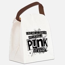 Punk At Heart Canvas Lunch Bag