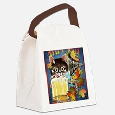 Happy Oktoberfest Kitty PosterP Canvas Lunch Bag