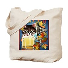 Happy Oktoberfest Kitty PosterP Tote Bag