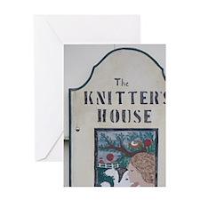 Cottage industrydward Island, Rustic Greeting Card