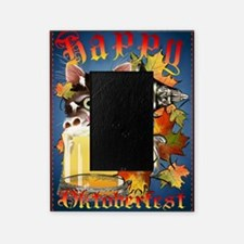 Happy Oktoberfest Kitty PosterP Picture Frame