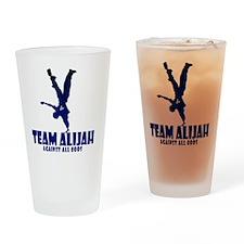teamalijahlogo Drinking Glass