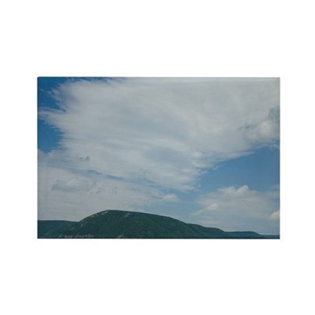 Cabot Trail. Cape Breton Highland Rectangle Magnet