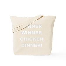 2000x2000winnerwinnerchickendinner2clear Tote Bag