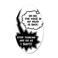 The Voice Oval Car Magnet