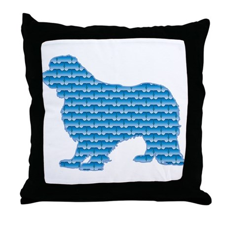Bone Cavalier Throw Pillow