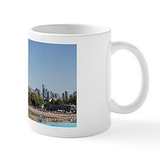 Kitsilano Beach park and swimming pool  Mug