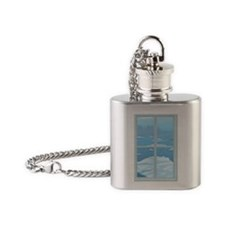 icebergs Flask Necklace