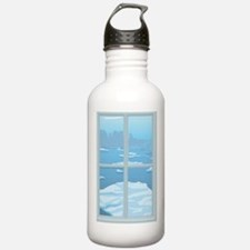 icebergs Water Bottle