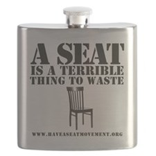 A SEAT IS A TERRIBLE Flask
