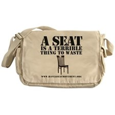A SEAT IS A TERRIBLE Messenger Bag