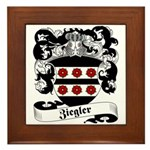 Ziegler Coat of Arms Framed Tile
