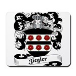 Ziegler Coat of Arms Mousepad