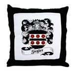 Ziegler Coat of Arms Throw Pillow