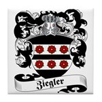Ziegler Coat of Arms Tile Coaster