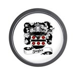 Ziegler Coat of Arms Wall Clock