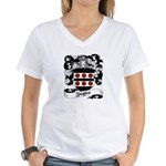 Ziegler Coat of Arms Women's V-Neck T-Shirt