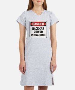 DN RACE CAR DRVR TRAIN Women's Nightshirt