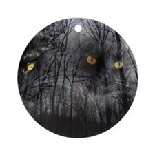 Enchanted forest Round Ornament