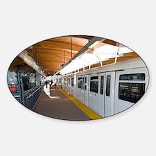 Trans Link light rail commuter trai Decal