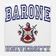 BARONE University Tile Coaster