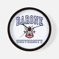 BARONE University Wall Clock