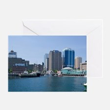 Popular Harbour Hopper tour boatterf Greeting Card