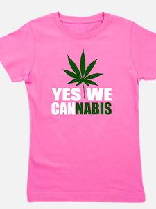 cannabis2 Girl's Tee