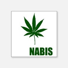 """cannabis2 Square Sticker 3"""" x 3"""""""