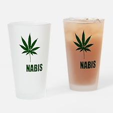 cannabis2 Drinking Glass
