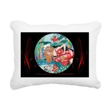 7 JULY Brinkley-Narcissu Rectangular Canvas Pillow