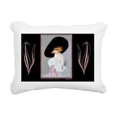 2 FEB 1921 CLIVE  ADB-Se Rectangular Canvas Pillow