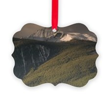 Early Winter Mountainscapeional P Ornament