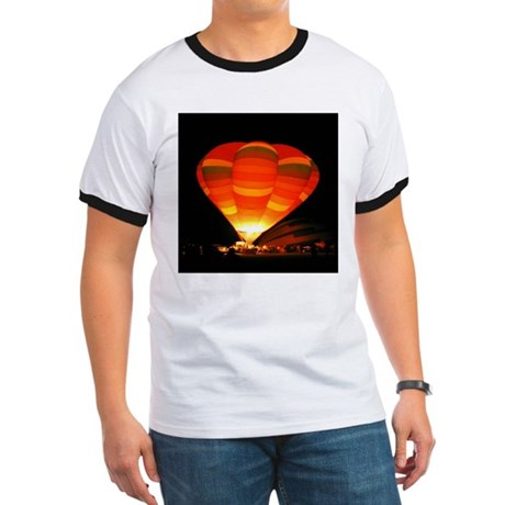 Night Glow Balloon Ringer T