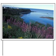Gaspe Peninsula (Gaspesie). Coastal wild Yard Sign